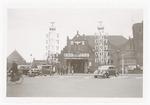 Het Station Amersfoort aan het Stationsplein, vers...