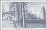 Hotel Oud Leusden aan de Dodeweg, met de oude kerk...