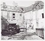 Het Observantenklooster tijdens de restauratie: sl...