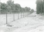 Nieuw hek bij de Bernhardkazerne te Amersfoort....