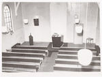 Interieur Remonstrantse Kerk aan de Herenstraat 2,...