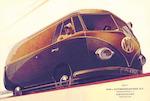 Reclame van Pon's Automobielhandel, met de afbeeld...