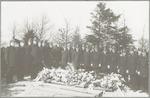 Begrafenis van A.E. Blok, commandant van de Amersf...
