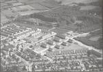Luchtfoto van het Leusderkwartier, vanaf de Celsiu...
