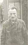 Portret van kampbewaker Joseph Oberle, kort na zij...