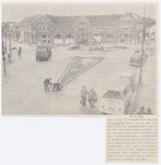 Reconstructie van het Prinses Julianaplein. Aan de...