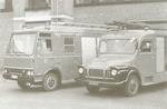 Nieuwe bluswagens voor de Amersfoortse brandweer. ...