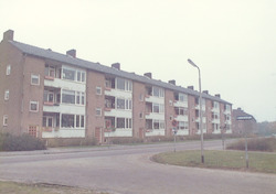 Flats aan de Bosweg, Amersfoort op de kruising Kel...