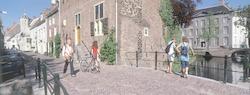 Muurhuizen bij Tinnenburg. Op de voorgrond de Sint...