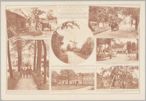 Een bladzijde met foto's uit de omgeving van Amers...