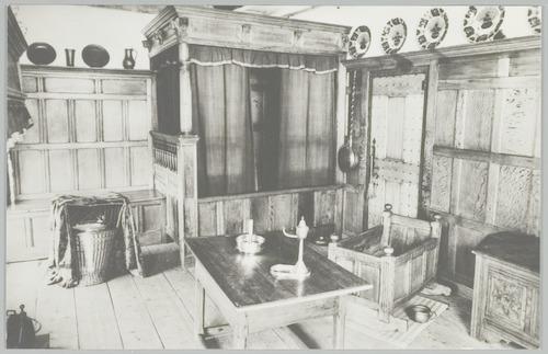 interieur museum flehite oudhollandse kamer met diverse