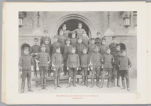 Het 1e Regiment Huzaren: Onderofficieren van den S...