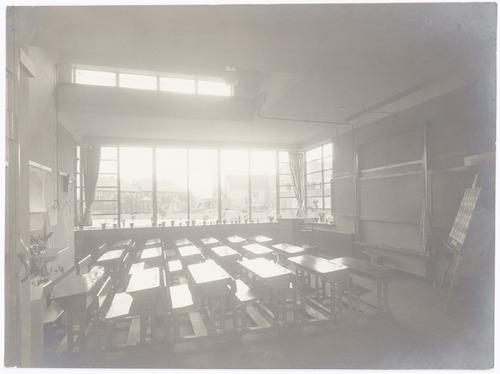 Interieur klaslokaal in de vincent van goghschool for Interieur amersfoort