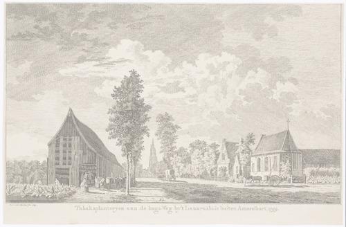 """bijzonderheden: Over het Lazarushuis, zie: """"Amersfoort in Prent"""" van Dr. J. Hovy, p. 80."""