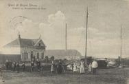 Groet uit Nieuwe Schans Gezicht op Steenfabriek de Boer