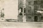 Lo: het stadhuis op 10 augustus 1921