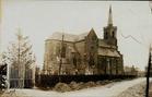 Houthulst: oude foto van kerk .