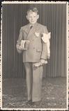 Westvleteren: plechtige communicant in 1950