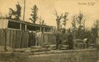 Houthulst: de opslag van oorlogstuig in het bos na de Eerste Wereldoorlog.