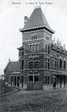 Diksmuide: Bortierlaan: Station Buurtspoorwegen