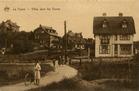De Panne: villa's in de Duinen, omgeving doktersweg