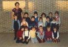 Oostkerke: leerlingen gemeenteschool in 1981-1982