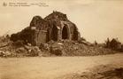 Houthulst: de Sint-Jan-de-Doper kerk tijdens de Eerste Wereldoorlog