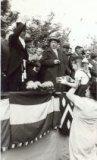 Beselare: huldiging burgemeester Ghekiere 1959