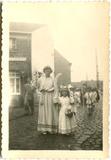 Pollinkhove: Sacramensprocessie eind jaren '50