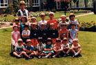 Werken: de tweede kleuterklas 1982-1983