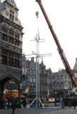 Ieper: kruis voor de paus