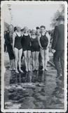 Ieper: zwemwedstrijd in de vaart Ieper-Boezinge