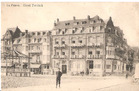 De Panne: hotel Terlinck