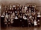 Krombeke: groepsfoto leerlingen meisjesschool