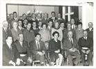 Vladslo: groepsfoto bij ereburgerschap Vital Vandekerckhove