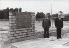 Koksijde: eerste steenlegging van de Kerkepannezaal