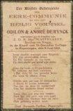 Poperinge: bidprentje Odilon en André De Rynck