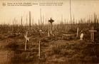 Houthulst: Duits militair kerkhof in het bos van Houthulst.