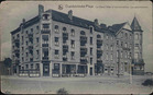 Oostduinkerke: Het Grand Hotel en de appartementen.