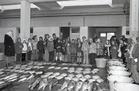 Schoolbezoek aan de vismijn