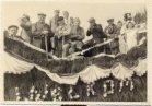 Passendale: Voshoek met praalwagen tijdens de aanstelling van E.H. Florent Van Cayseele