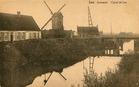 Pollinkhove: de omgeving van de brug over het Lokanaal tijdens het interbellum
