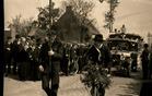 Klerken: inhuldigingsstoet voor  pastoor De Brabandere in 1939