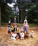 Werbomont: Chiro Beselare op kamp.