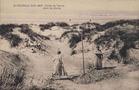 Koksijde: een geïmproviseerd partijtje tennis in de duinen