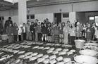 Nieuwpoort-stad: vismijnverkoop met klasbezoek