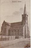 Houthuls: Sint-Jan-de-Doper kerk tijdens het interbellum.