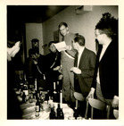 Lo: schachtendoop bij studentclub Moeder LUC in 1967