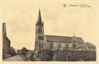 Dikkebus: Kerkstraat met huidig kerkgebouw