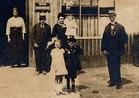 Ieper: eigenaarsfamilie Cherchye-Bonte en herberg L'Abri